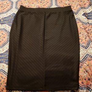 Apt 9 black textured pencil skirt Medium (M)